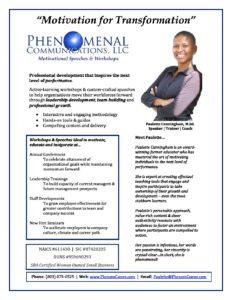 Company Profile PDF - Phenomenal Communications, LLC